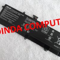 Baterai Asus X201 X201E S200E C21-X202 Battery Asus X201E Original