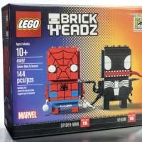 Jual LEGO 41497 SDCC 2017 : Brickheadz SpiderMan & Venom Murah
