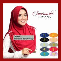 Kerudung Jilbab Hijab Instan Rumana Swarovsky