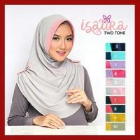 Jilbab Hijab Instan Isaura Two Tone