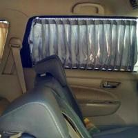 Horden mobil / tirai mobil/ bukan kaca film model horden jendela rumah