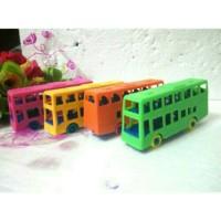 Mainan Bus Tingkat Mini