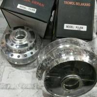 harga Tromol Yamaha Fizr Depan Belakang Chrome Tokopedia.com
