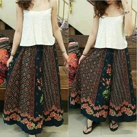 celana kulot batik marshanda / fashion wanita