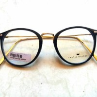 kacamata frame korea castle builder untuk pria dan wanita free lensa