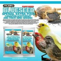 Blue Seed Pro Bird Pakan Kenari Canary Poer Voer Vitamin Lomba Makanan