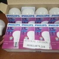 Jual PAKET Lampu Led Bulb 13w 13 watt 13 w Putih Philips Garansi 3th ledbul Murah