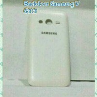 Sale... Back Door Samsung Galaxy V G313 Putih Backdoor Casing Tutup Hp