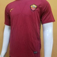 JERSEY BOLA AS ROMA HOME 2017/2018 GRADE ORI