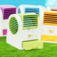 MINI HANDHELD AIR CONDITIONER COOLER FRAGRANCE BLADELESS FAN AC MINI D