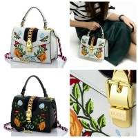 GUCCI Dyonisius Embroidered 093-1 | Tas import | tas branded wanita