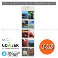 harga Wall Pocket Mini Photo Album 10 Foto Polaroid Instax 8/9/90/ Sp2 Etc Tokopedia.com
