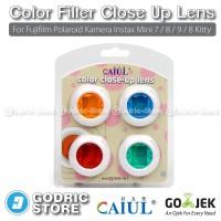 Color Filter Close Up Lens Fujifilm Polaroid Instax Mini 7/8/9/8 Kitty
