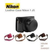 Tas Leather Case Bag Kamera Mirrorless Nikon J5