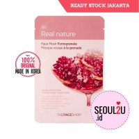 [The face shop] Natural Mask - Pomegranate