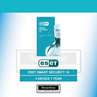 Antivirus ESET NOD32 Smart Security 10 3 PC 1 Tahun