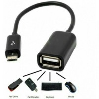 Kabel OTG USB to android (samsung, asus, xiaomi) female to micro USB
