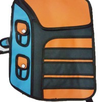 Jual Jump From Paper /Tas 3D /Tas Kartun - Design Backpack (Red) Murah