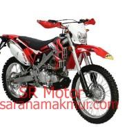 Viar Motor Trail Cross X 200 ES Merah (Jawa Timur)