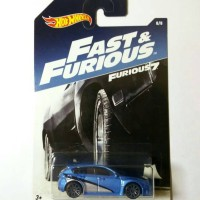 Hot wheels / Hotwheels Subaru WRX STI Fast & Furious