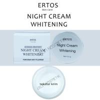 ERTOS Night Cream Whitening / pencerah dan pelembab ERTO'S