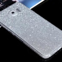 Glitter Skin Garskin Pelindung HP Cover Casing Samsung galaxy S7 EDGE