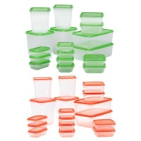 [A821] IKEA Pruta 17 pcs Food Container Toples Penyimpanan Makanan