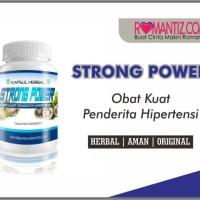Obat-Kuat Herbal Khusus Hipertensi Darah Tinggi - STRONG POWER - Murah