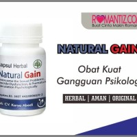 Obat-Kuat Herbal Pria Anxietas - NATURAL GAIN