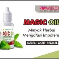 MAGIC OIL - OBAT HERBAL ATASI IMPOTENSI & LEMAH SYAHWAT - 15ml - MURAH