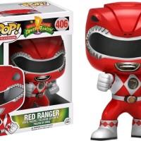 Jual Funko POP! Television Power Rangers Action PoseRed Ranger mainan asli Murah