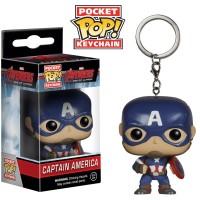 Jual Funko Pocket POP Keychain Marvel Avengers Captain America mainan asli Murah