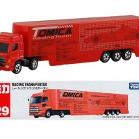 Tomica long series no 129 Racing Transporter