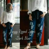 Jual baggy ripped jeans Murah