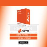Nitro PDF Pro 10 Original durasi Lifetime Bergaransi