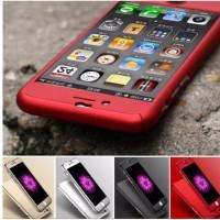 Jual Hardcase Rubber 360 FREE Tempered Glass Full Case Iphone 5 5s 6 6s 6+7 Murah