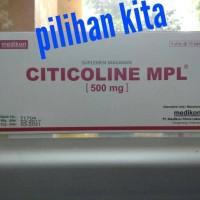 CITICOLINE MPL 500 Mg Medikon Isi 30 Tablet/ Box