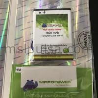 Baterai Hippo Samsung Galaxy Ace/Ace Duos/Gio/Young Duos S6310 1600mAh