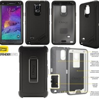 Jual ANTI SHOCK COVER SAMSUNG GALAXY NOTE 4 OTTERBOX DEFENDER HARDCASE BACK Murah