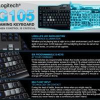 Keyboard Gaming Logitech G105