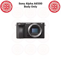 Kamera Sony Alpha 6500 Body Only ; Mirrorless ILCE-6500 BO ; A6500