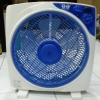 Jual KIPAS ANGIN BOX FAN QQ GMM 369 3 speed pluss Timer Murah