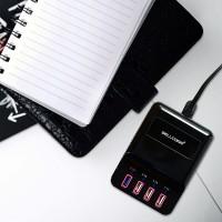 Jual Promo Paket Charger 4 Port USB + Cable Micro 100cm Murah