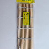 bamboo sushi mat / bambu penggulung kimbab nasi - hkn071 asli