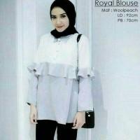 Royal Blouse Grey tzk001