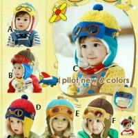 harga Topi Pilot ( Korean Pilot Hat ) : Topi Bayi , Topi Anak Tokopedia.com