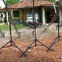 Jimmy Jib Crane Jib Porta Jib Ukuran 150cm SEMUT DIY