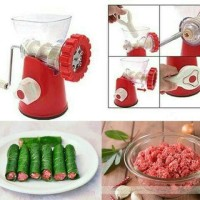 Meat Grinder - Penggiling Daging Sayuran Pasta Manual - Meat Mincer