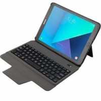 Samsung Galaxy Tab S3 S 3 9.7 Keyboard Leather Flip Case Casing Sarung