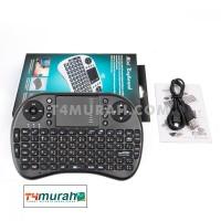 Mini Keyboard Mouse Wireless i8 Touch pad 92 Key Super Bergaransi